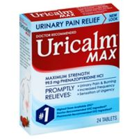 Uricalm® 24-Count Maximum Strength Urinary Pain Relief Tablets
