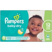 Pampers® Baby Dry™ 132-Count Size 5 Pack Disposable Diapers