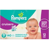 Pampers® Cruisers™140-Count Size 3 Pack Disposable Diapers
