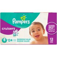 Pampers® Cruisers™124-Count Size 4 Pack Disposable Diapers