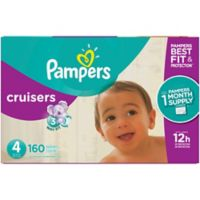 Pampers® Cruisers™160-Count Size 4 Pack Disposable Diapers