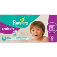 Pampers® Cruisers™104-Count Size 5 Pack Disposable Diapers