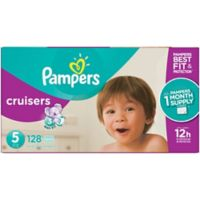 Pampers® Cruisers™128-Count Size 5 Pack Disposable Diapers