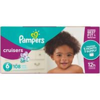 Pampers® Cruisers™108-Count Size 6 Pack Disposable Diapers