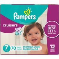 Pampers® Cruisers™ 70-Count Size 7 Pack Disposable Diapers