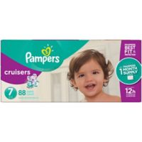 Pampers® Cruisers™ 88-Count Size 7 Pack Disposable Diapers
