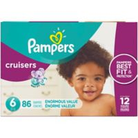 Pampers® Cruisers™ 86-Count Size 6 Pack Disposable Diapers