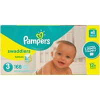 Pampers® Swaddlers™ 168-Count Size 3 Pack Diapers