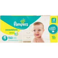 Pampers® Swaddlers™ 150-Count Size 4 Pack Diapers