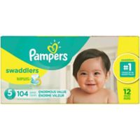 Pampers® Swaddlers™ 104-Count Size 5 Pack Diapers