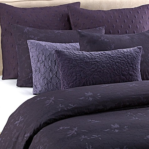 Vera Wang Violet Duvet Cover Set Bed Bath Amp Beyond