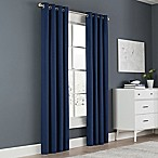 Newport 63-Inch Grommet Window Curtain Panel in Navy