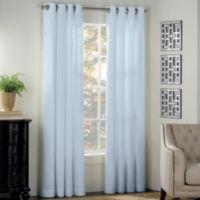 Newport 95-Inch Grommet Window Panel in Light Blue