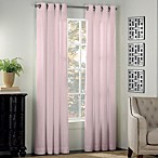 Newport 63-Inch Grommet Window Curtain Panel in Light Pink