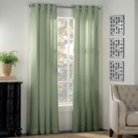 Newport 108-Inch Grommet Window Panel in Sage