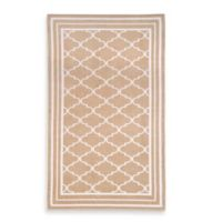Fretwork Oversized Beach Towel in Sand