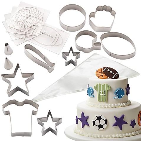 Cake Boss Sports Cake Kit Bed Bath Amp Beyond