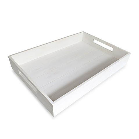 Bed Bath And Beyond White Tray