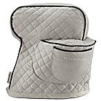 KitchenAid® Fitted Cloth Cover for KitchenAid® Tilt Head Stand Mixers in Silver Frost