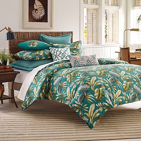 Tommy bahama paradise palm duvet cover set bed bath beyond tommy bahama paradise palm duvet cover set gumiabroncs Gallery