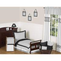 Sweet Jojo Designs Zig Zag 5-Piece Toddler Bedding Set in Grey/Black
