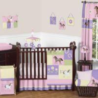 Sweet Jojo Designs Pretty Pony 11-Piece Bedding Set