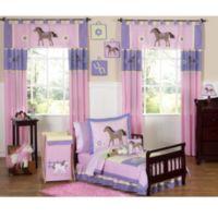 Sweet Jojo Designs Pretty Pony 5-Piece Toddler Bedding Set