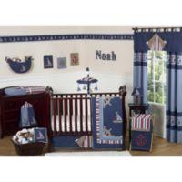 Sweet Jojo Designs Nautical Nights 11-Piece Crib Bedding Set