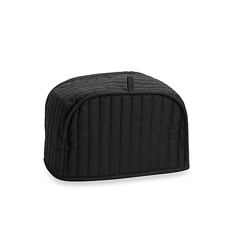 buy black two slice toaster cover from bed bath beyond. Black Bedroom Furniture Sets. Home Design Ideas
