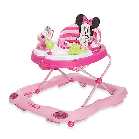 Disney Baby Minnie Mouse Glitter Music Amp Lights Walker