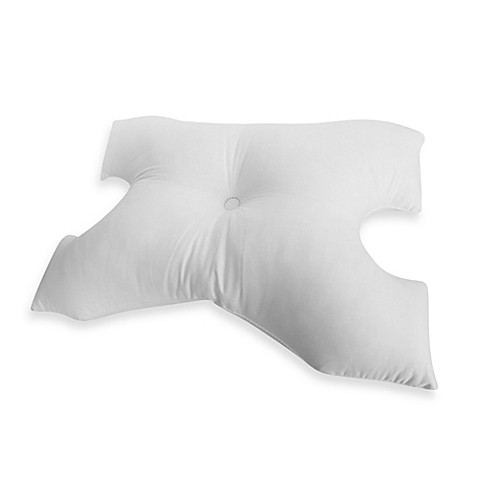 The MedCline Therapeutic Body Pillow can be added to the MedCline Advanced Positioning Wedge for additional side-sleeping support and comfort. The MedCline Therapeutic Body Pillow may also be useful for other medical conditions that benefit from side sleeping, such as snoring, sleep apnea, sciatica, fibromyalgia, lower back pain, and pregnancy.