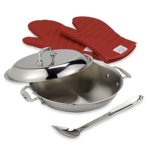 All-Clad Stainless Steel 2 qt. All-Purpose Pan