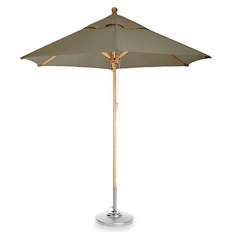 buy brown 8 foot octagon patio umbrella in camden