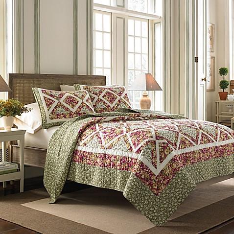 Laura ashley ashton quilt bed bath beyond for Ashton castle bedroom set by ashley