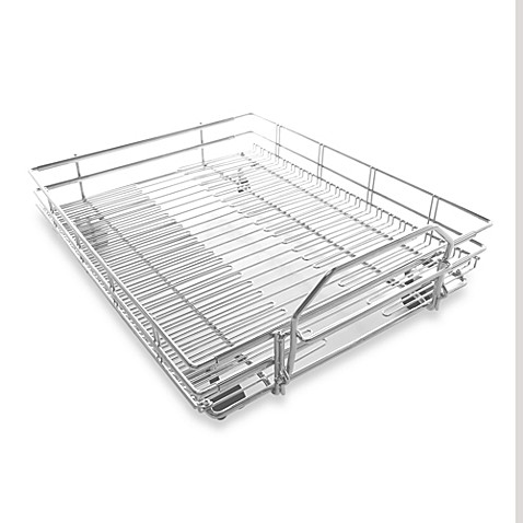 Expandable Pull Out Shelf On Wheels Bed Bath Amp Beyond