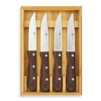 Zwilling J.A. Henckels 4-Piece Steakhouse Steak Knife Set