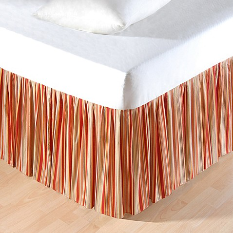 king bed skirt rossa stripes king bed skirt bed bath amp beyond 980