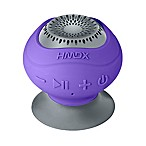 HMDX® Neutron Wireless Bluetooth® Suction Speaker in Purple/Grey