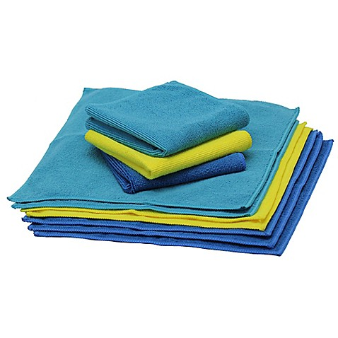 image of Schroeder & Tremayne The Original™ Microfiber 10-Pack Cleaning Cloths