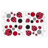 Sweet Jojo Designs Polka Dot Ladybug Wall Decals