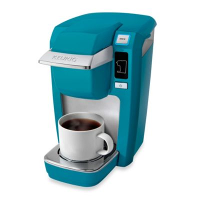 Keurig Mini Coffee Maker Bed Bath And Beyond : Keurig K15 Mini Plus Brewing System in Aqua Blue - Bed Bath & Beyond