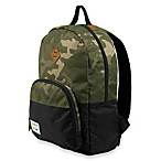 Benrus Bulldog Backpack in Green Camouflage
