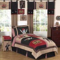 Sweet Jojo Designs Pirate Treasure Cove 3-Piece Queen Bedding Set