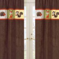 Sweet Jojo Designs Forest Friends Window Panel Pair