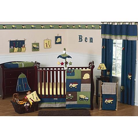 Sweet Jojo Designs Construction Zone Crib Bedding