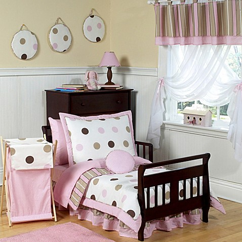 Designer Dot 5 Piece Toddler Bedding
