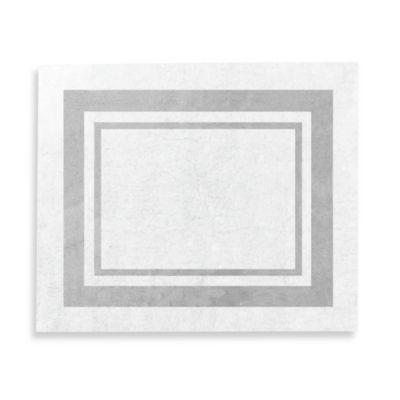 Sweet Jojo Designs Hotel 36 Inch X 30 Rug In White Grey