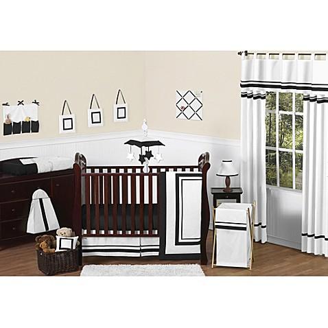 Black Crib Bedding