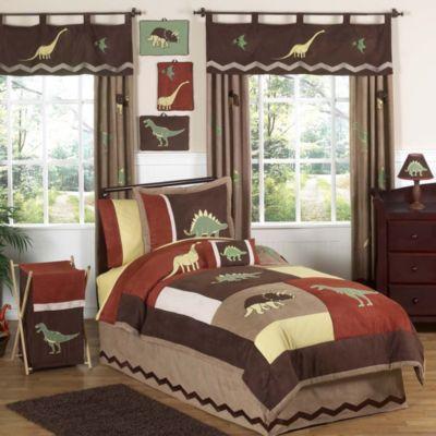 Sweet Jojo Designs Dinosaur Land 4 Piece Twin Bedding Set