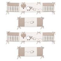 Sweet Jojo Designs Little Lamb Crib Bumper